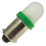 LED-GREEN-DOME-T31/4-MB-6-28V
